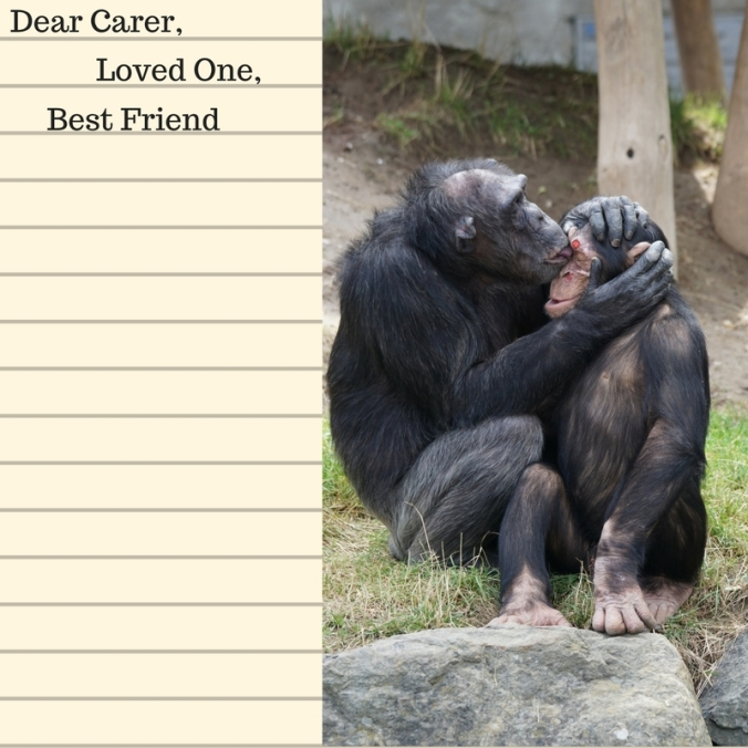 Dear Carer, Loved One Best Friend