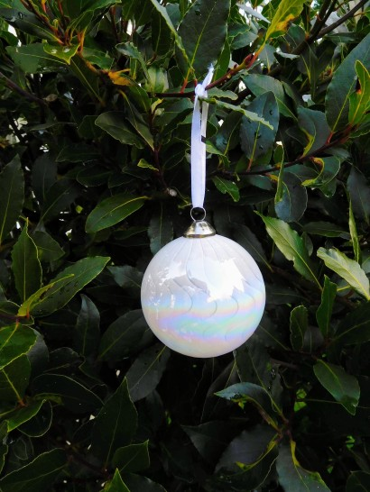 White Bauble Xmas